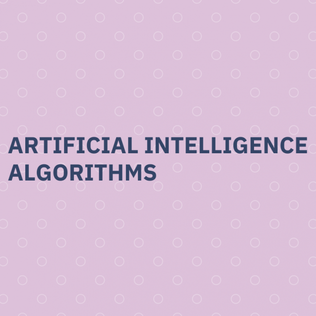 Artificial intelligence, algorithmss