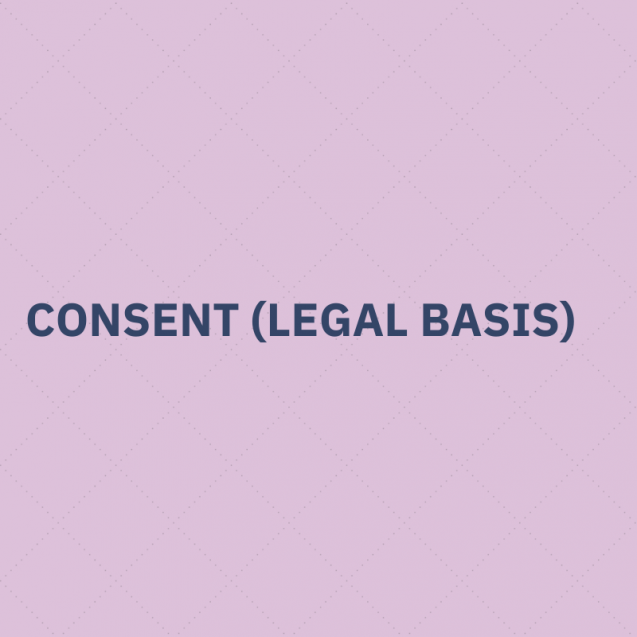 Consent (legal basis)