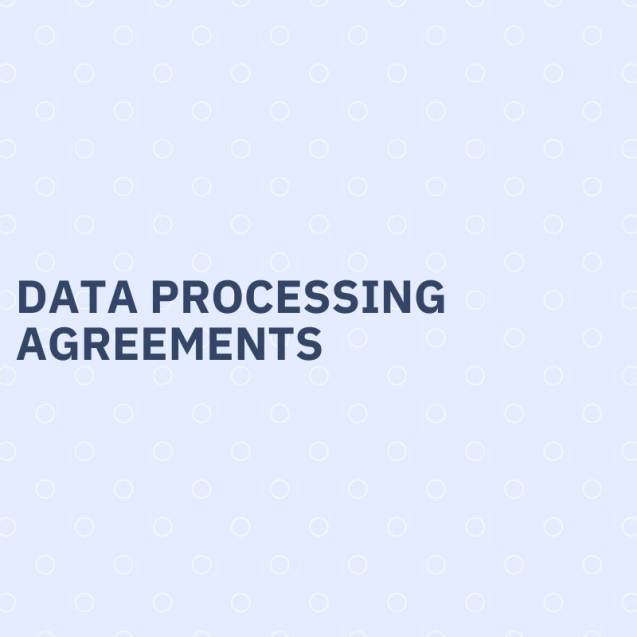Data processing agreements