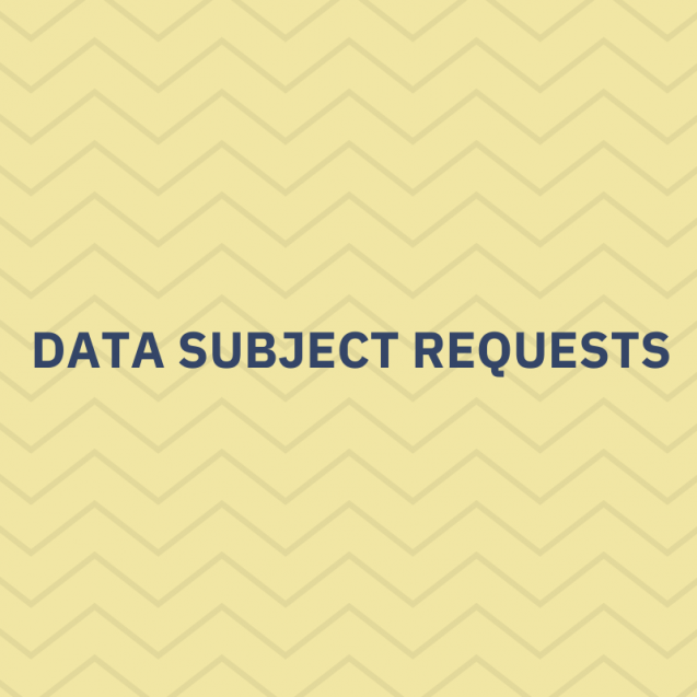 Data subject requests