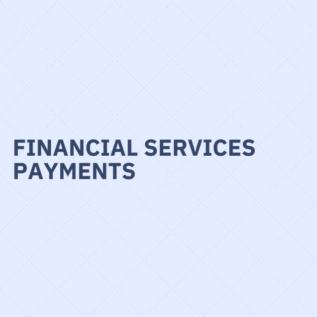 FInancial services, payments