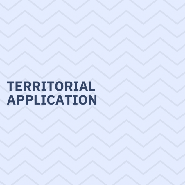 Territorial application
