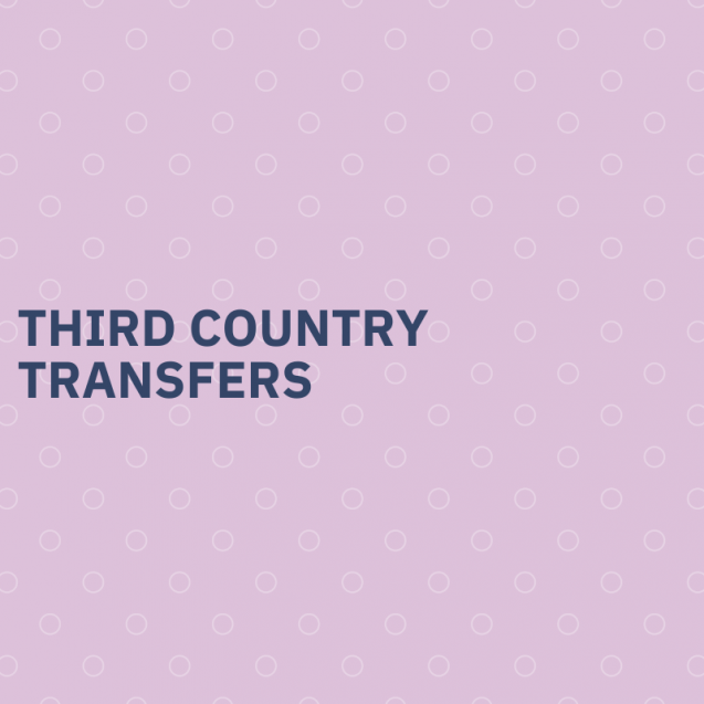 Third country transfers